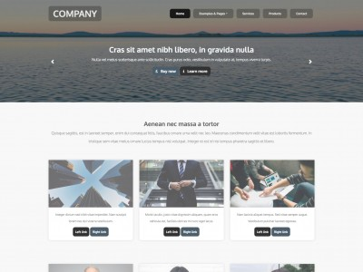 float Free web template