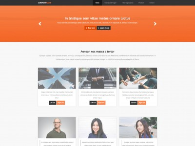 goodness Free web template