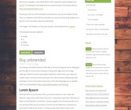 woodply - Free CSS Template by ZyPOP